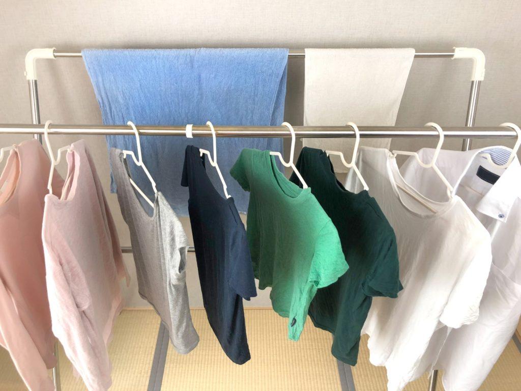 冬の乾燥予防に洗濯物を寝室で干すときの注意点とは