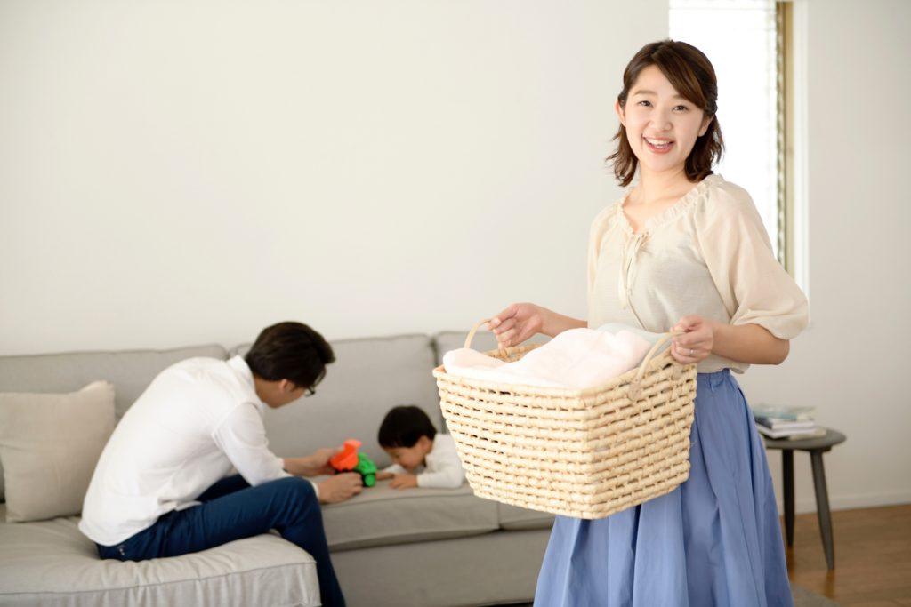 我が家では家事分担よりも「家事協力」がベスト!