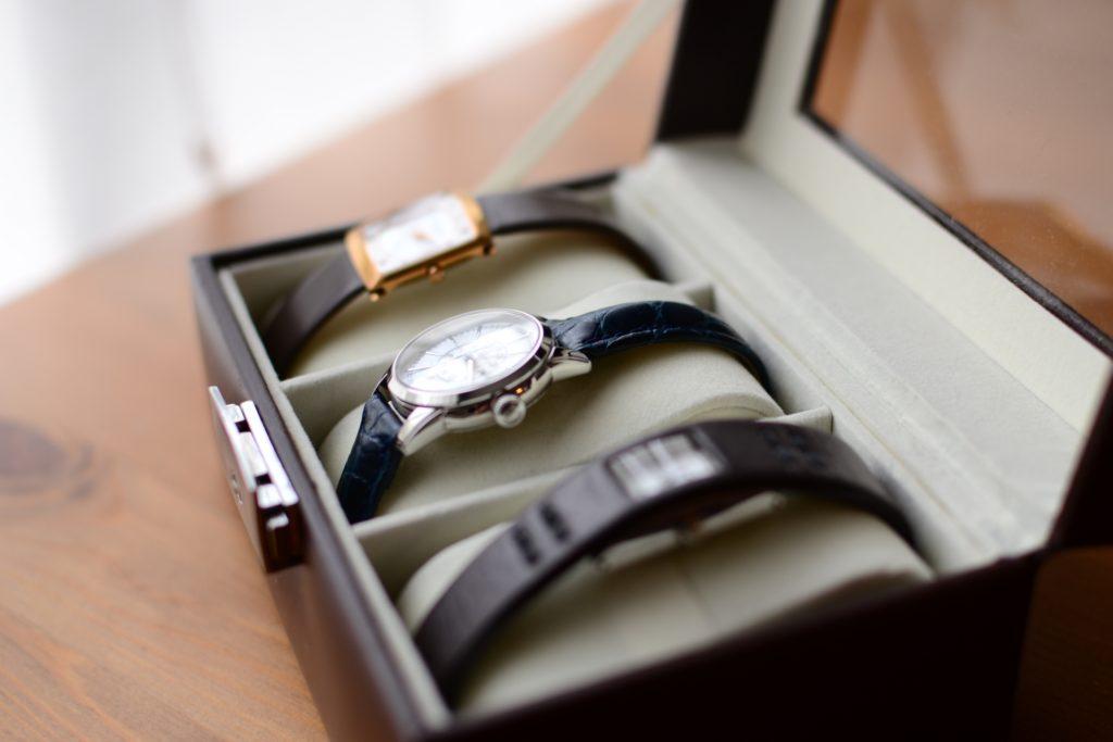 腕時計をオシャレに保管する収納ケース